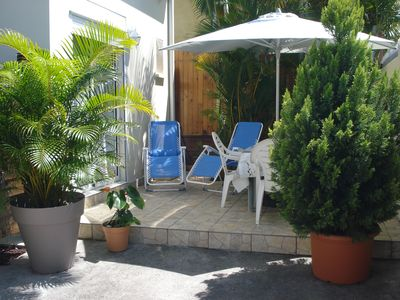 Photo for Maisonette with mezzanine, air conditioning, private closed parking, wifi internet, quiet.