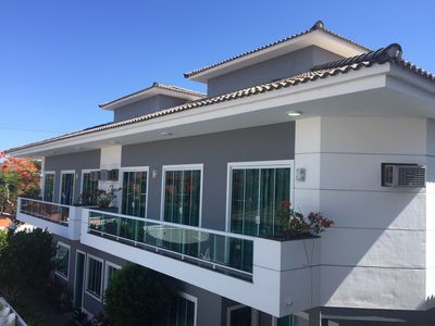Photo for House in Cabo Frio, duplex, 3 rooms. Great leisure structure with swimming pool.