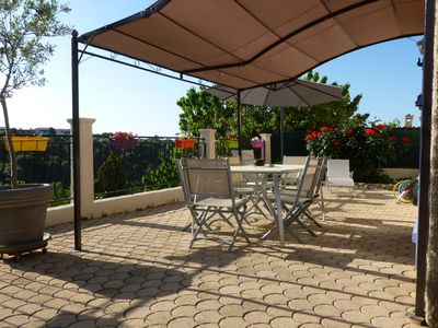 Photo for PRETTY 2 P IN VILLA / QUIET AND RESIDENTIAL / CAGNES S / SEA / LA GAUDE / 5 KM FROM THE SEA