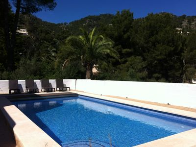 Photo for Canyamel, pool, Wi-Fi, Chalet in Ibiza style, sea and countryside views