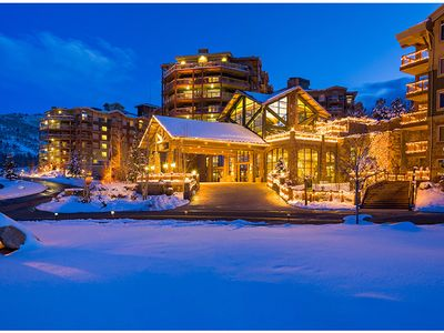 Photo for Luxury 1br 1bth Ski in/out condo at Westgate just 5 miles from Main Street.