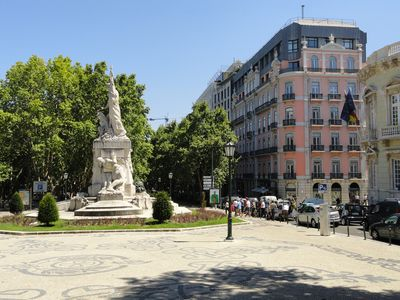 Photo for 2 Bed Luxury Apt in the Heart of Downtown Lisbon, Just off  Avenida da Liberdade
