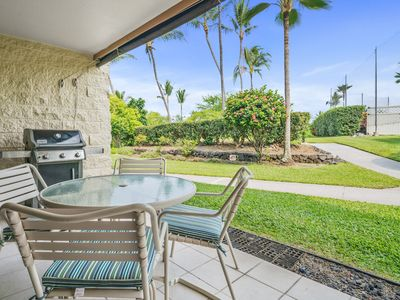 Photo for Inviting Garden View Condo w/ Golf Nearby- Private BBQ on Lanai, Complex Amenities Available