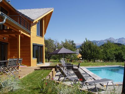 Photo for CHALET PAULANTOINE with SWIMMING POOL and BALNEOTHERAPY SPACE