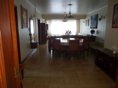 Photo for comfortable, quiet apartment, family building and on the same block from the beach.