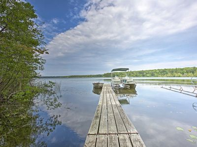 Photo for NEW! Interlochen Home - Walk to Dock on Green Lake