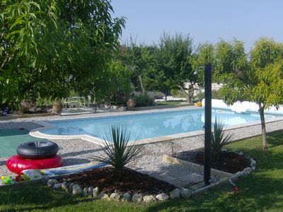 Photo for Blanchou Cottage, Beautifully Renovated With Magnificent Views and pool.