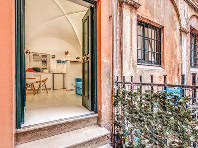 Photo for Delightful apartment in Piazza Navona