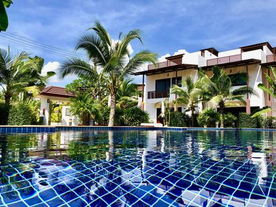 Photo for Modern 3 Bedroom Holiday Home with Tropical Pool Garden