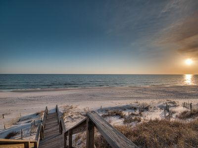 Photo for South Side 30A Luxury Condo with Gulf Views in Heart of Watercolor + FREE BIKES!