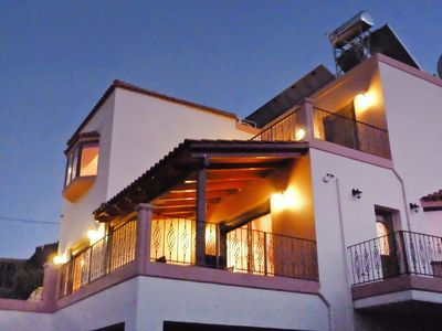 Photo for Stunning private villa for 6 people with A/C, hot tub, WIFI, private pool, TV, balcony and parking