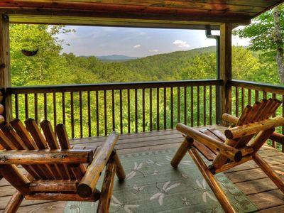 Photo for Experience the Perfect Blue Ridge Mountain Getaway! Perfect for Romantic Weekends, Family Vacations,