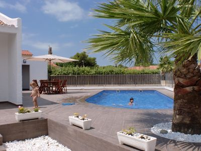 Photo for OFFER House with private pool with salt chlorination and garden and terraces