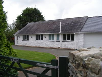 Photo for Detached bungalow within the Snowdonia National Park, near to the beach