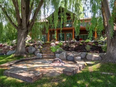 Photo for 'River's Edge' 6BR Glenwood Home w/Private Hot Tub