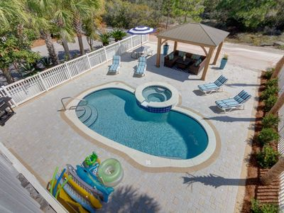 Photo for Total Remodel~Gorgeous!  Private Saline Pool, Ocean View