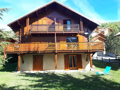 Photo for Very nice semi-detached chalet, very comfortable, near the slopes of Chantemerle