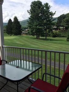 Photo for Hummingbird Haven is beautifully appointed, 2/2, AC, WiFi, golf course and mountain view