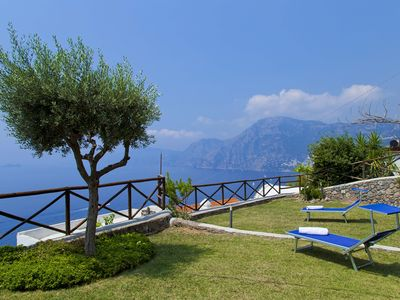 Photo for The Bouganville is a corner of paradise between Amalfi and Positano with sea view