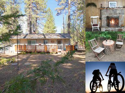 Photo for Close to trails, mountain biking and the Lake. Great Flat Fenced Yard for Kids!