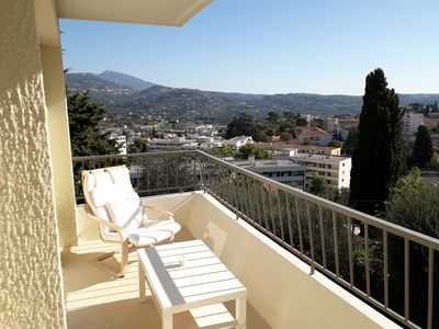 Photo for Beautiful 3 rooms Grasse south.