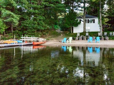 Photo for Whip O' Will Beach House on Sabbathday Lake with In law Studio  Apartment