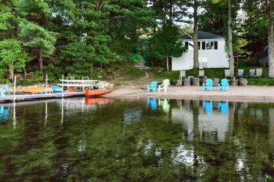 View of Whip O'Will Beach House Lake Side