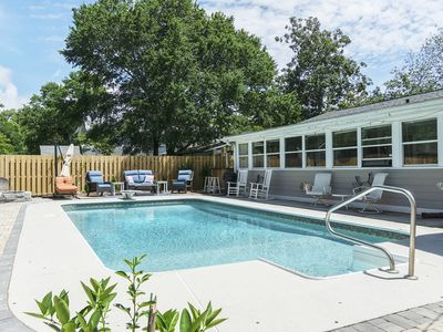 Photo for Barbee Beach House: A Peaceful Vacation Home for a Large, Active Group