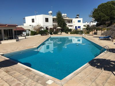 Photo for Lovely 2 Bedroom Apartment to rent in Kings Gardens Complex, Paphos, Cyprus