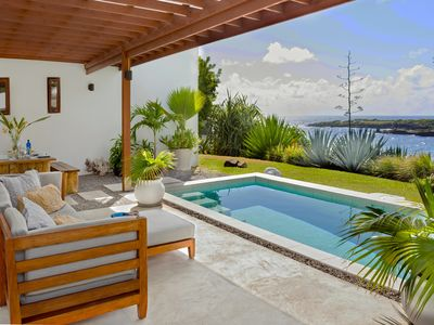 Photo for Caribbean Modern Ocean Front Villa, 2 Bedrooms
