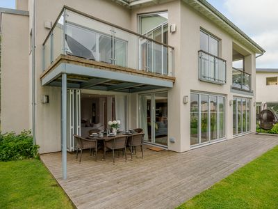 Photo for Contemporary Glass Fronted Lakeside Villa, With On-site Luxury Spa !!