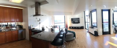 Photo for 180º Views of Bay, Golden Gate Bridge; Upgraded 2B-2BR 1350 SQFT High-rise