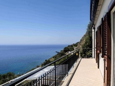 Photo for Homerez last minute deal - Amazing apt with sea view