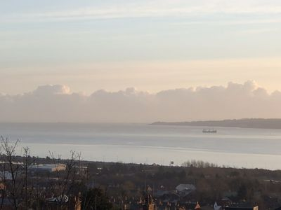 Photo for Large comfortable detached city home stunning views over Irish Sea very private