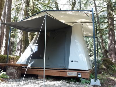 Sol duc rainforest Glamping retreat camp 5