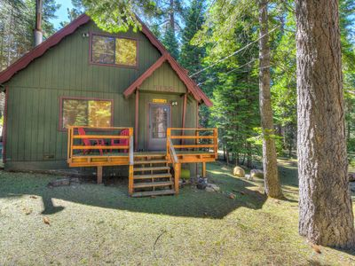 Photo for Cozy Tahoma Cabin with BBQ, Close to Lake