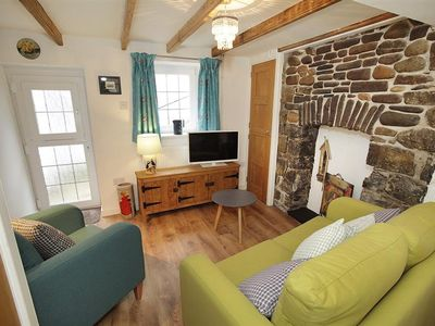 Photo for This charming one bed coastal cottage is the perfect couple's retreat. Interiors are beautiful wit