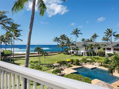 Photo for Poipu Kapili #43: Penthouse Panoramic Oceanviews with Air Conditioning