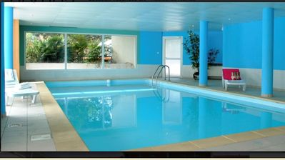 Photo for NEW, 6 sleeps apartment, indoor and outdoor pools, 300 m beach