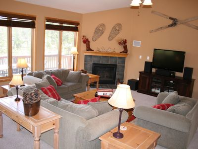Photo for Spacious mountain home on 2 acres, hot-tub, WiFi, great central location