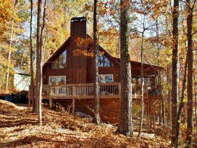 Photo for Rustic Lakefront Retreat