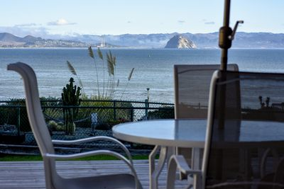 This is the amazing view of the Pacific that you will enjoy during your stay!