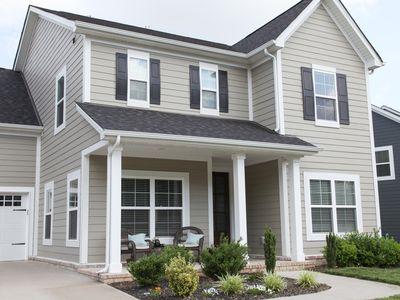 Photo for Beautiful new home in greater Nashville. 5 BDRM; 4 Bath; Sleeps 10+.
