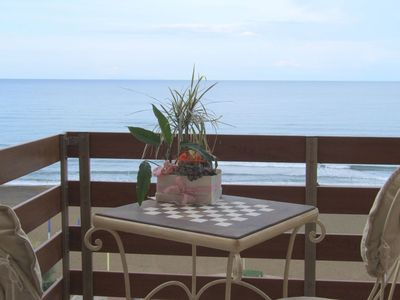 Photo for Nice apartment for 4 people with A/C, WIFI, patio, panoramic view and parking