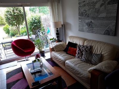 Photo for VANNES, bright T2 with garden 10 min walk from the port and the city center