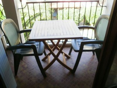Photo for Apartment on the 2nd floor for 4 people in residence with swimming pool, tennis and private parking