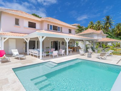 Photo for LightHouse luxury villa with swimming pool, pontoon, sea view