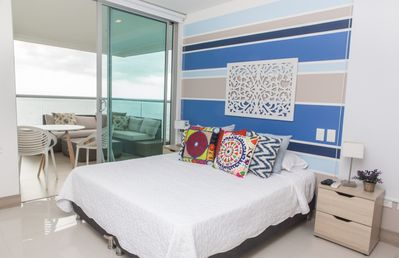 Photo for Spacious Sunset View Apartment, Palmetto Sunset