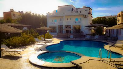 Photo for Beautiful garden villa with private swimming pool