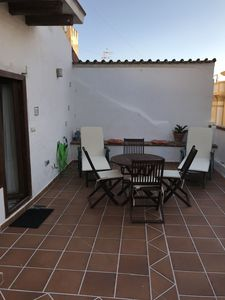 Photo for Town house in the center of Tarifa, 2 bedrooms., 2 bathrooms, roof terrace u. Wifi